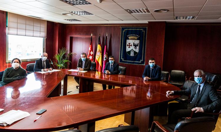 Todos los Grupos Políticos de Alcobendas trabajando juntos por la reactivación de la ciudad