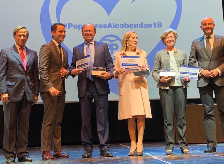 El Partido Popular de Alcobendas entrega sus Premios Populares