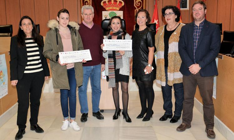 """Pilar Jiménez y Sandra García, """"Premios al comprador"""" de Sanse"""