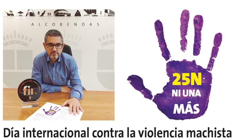 ¡25 - N! Día internacional contra la violencia machista en Alcobendas
