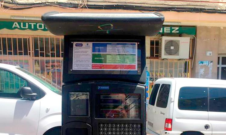 Alcobendas reanuda el Servicio de Estacionamiento Regulado