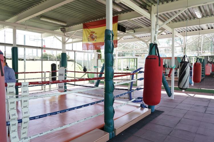El Ayuntamiento de Sanse termina la primera fase de un nuevo espacio para la práctica de boxeo en el Polideportivo Dehesa Boyal