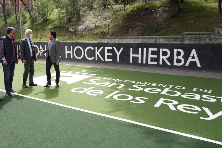 El Ayuntamiento de Sanse acondiciona los Campos de Hockey y Fútbol 7