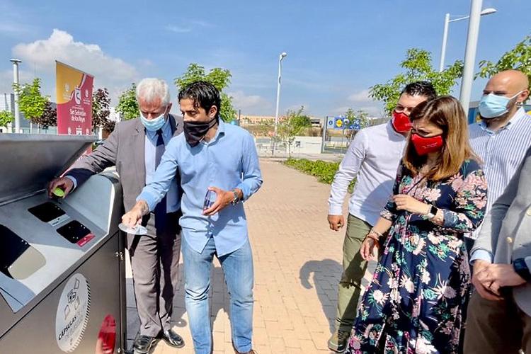 El Ayuntamiento de San Sebastián de los Reyes instala cinco nuevos Puntos Limpios de Proximidad para acercar el reciclaje a los barrios
