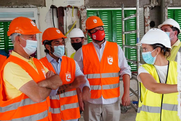 El Gobierno de Sanse dedica cerca de un millón de euros a reformar las infraestructuras escolares durante el verano