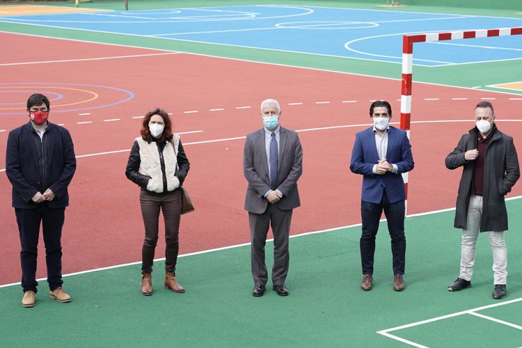 Sanse renueva y refuerza las infraestructuras de los colegios públicos San Sebastián y Silvio Abad