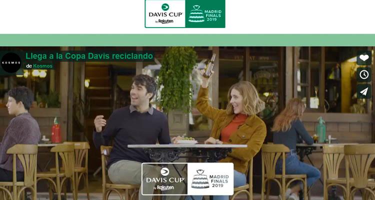 Sanse premia el reciclaje con entradas gratis para la Copa Davis