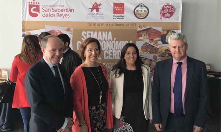 Cándido López y Narciso Romero presentan la Semana Gastronómica del Cerdo de Sanse