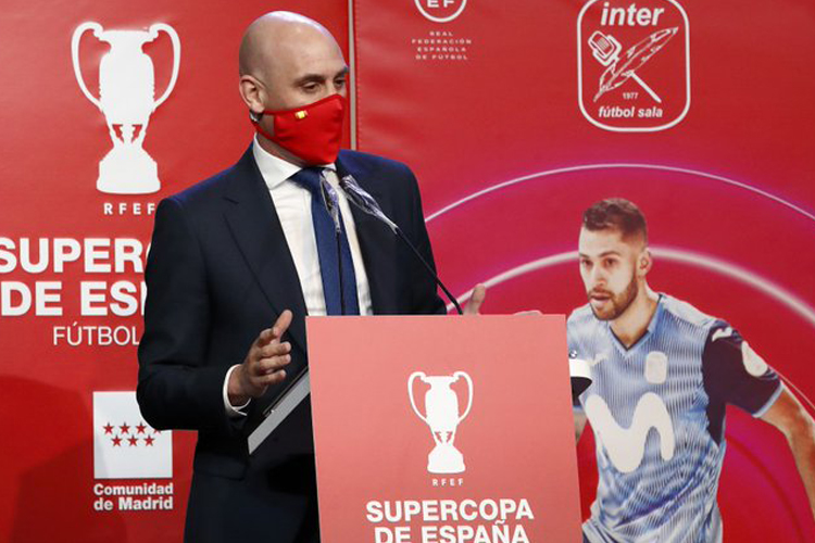 La Comunidad de Madrid participa en la presentación de la Supercopa de España de Fútbol Sala