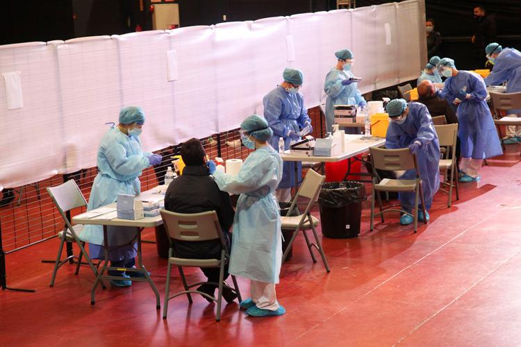 La Comunidad de Madrid activa, desde mañana lunes, un nuevo dispositivo de test de antígenos en La Esfera de Alcobendas, ahora el perteneciente a la Zona Básica de Salud de Valdelasfuentes