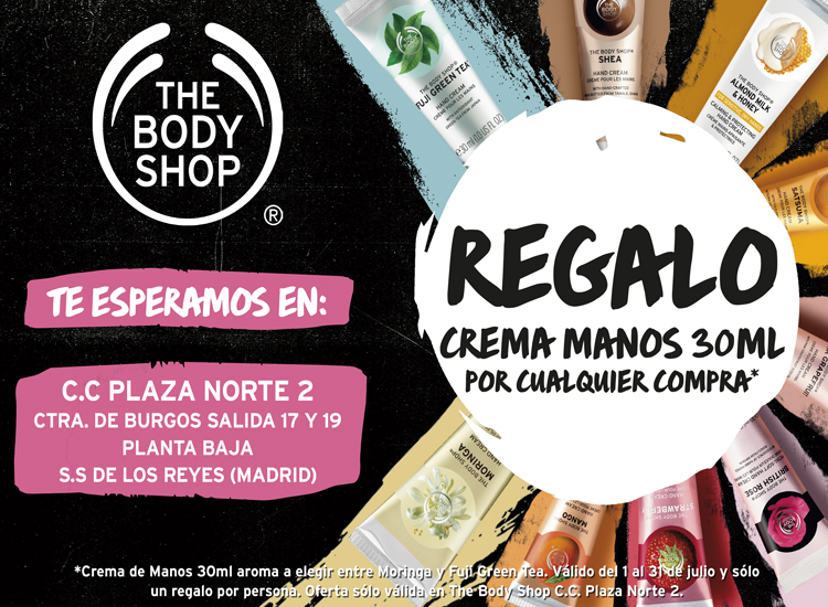 The Body Shop cumple un año en el Centro Comercial Plaza Norte 2