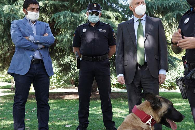 La Unidad Canina de la Policía Local de San Sebastián de los Reyes ya ha comenzado sus primeras actuaciones en el municipio