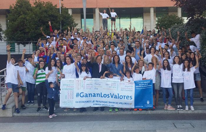 En el Deporte de Alcobendas #GananLosValores