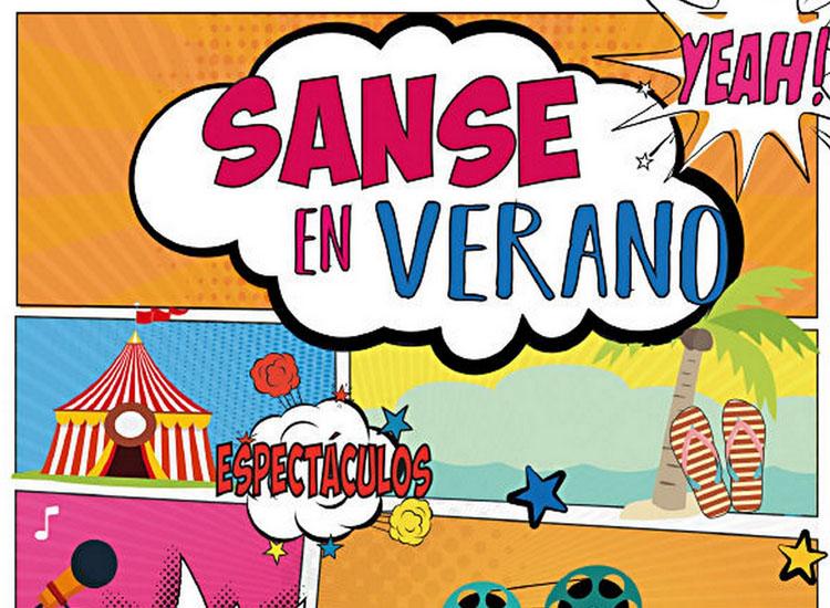 """Con """"Sanse en verano"""" la Cultura sale a la calle"""