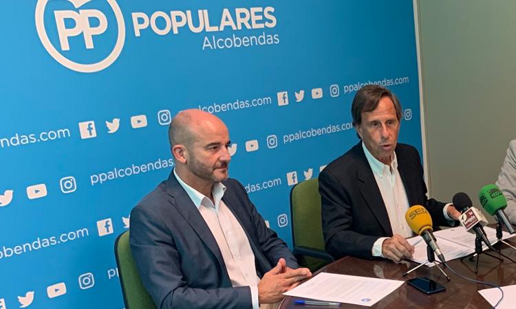 Ignacio García de Vinuesa deja la Presidencia del PP de Alcobendas