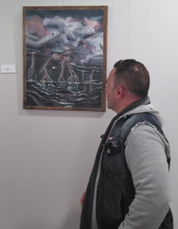 Premiada la obra pictórica de un paciente de Psiquiatría del Hospital Universitario Infanta Sofía