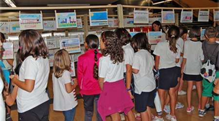 """Exposición escolar """"Así es mi Metro Ligero"""". En la estación Pinar de Chamartín Línea ML1, del 16 de septiembre al 9 de octubre"""