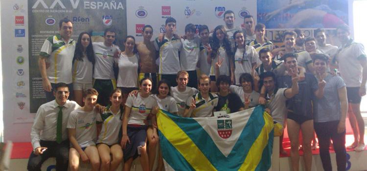 El Club Natación Alcobendas logra el ascenso a la máxima categoría de la natación española, a División de Honor