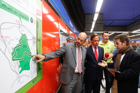 Una nueva Ruta Verde permite descubrir el Monte de Valdelatas desde la estación de Metro de La Granja en Alcobendas