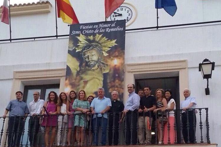 Cs SanSe pide acuerdo a PSOE y Ganemos para colgar la tradicional banderola de las fiestas