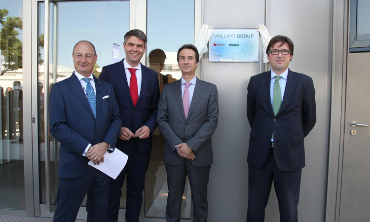 Vaillant Group inaugura en Alcobendas una nueva sede sostenible