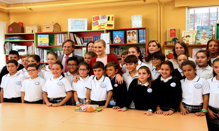 La presidenta Cifuentes inaugura el curso escolar en Alcobendas